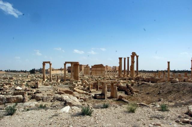 Syrian army reclaims Palmyra