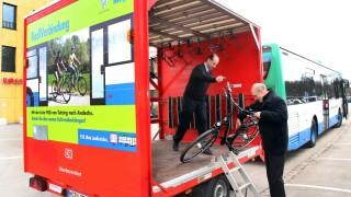 Buslinie mit Fahrradanhänger wird eröffnet; Mit dem Radlbus von Tutzing nach Andechs