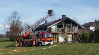Brand in Aufhausen