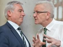 Sondierungsgespräche von Grünen und CDU