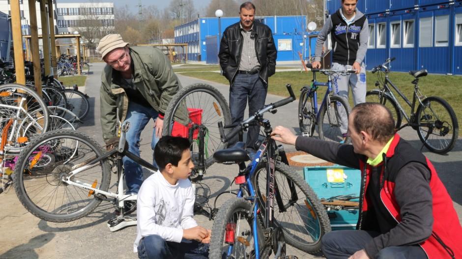 """Freising Arbeitskreis """"Fahrradwerkstatt"""""""