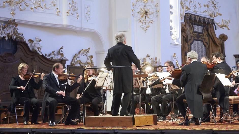 Schäftlarner Konzrte Verleihung des Kulturtalers an Benno Forster
