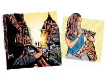 """Illustration für Serie """"Gute Reise"""""""