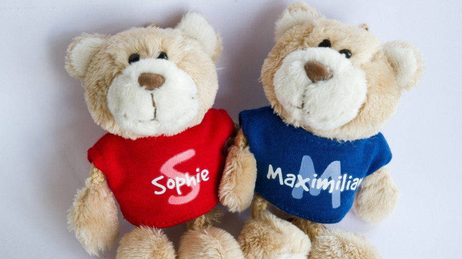 Vornamen Sophie und Maximilian