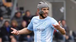 Klaus Gjasula Der Fussballer Mit Helm Sport Suddeutsche De