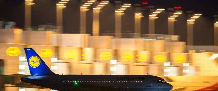 Streik bei Lufthansa - München