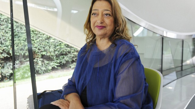 Iraqi-British architect Zaha Hadid dead at 65