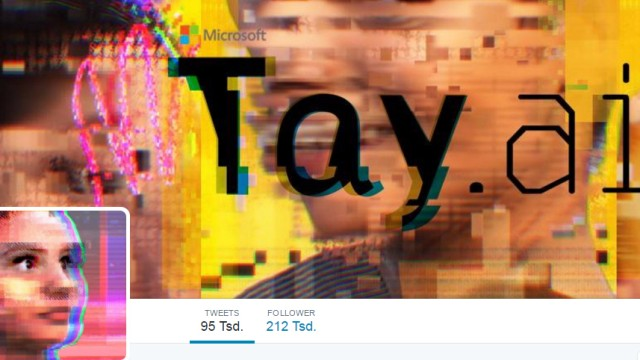"Microsoft Microsoft-Programm ""Tay"""