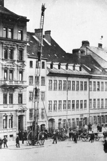 Historische Leiterübung