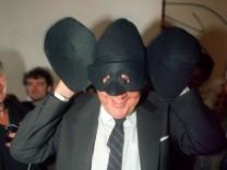 Hans-Dietrich Genscher als Genschman