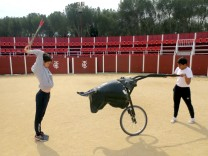 Spaniens größter Stierkampfschule in Madrid droht das Aus