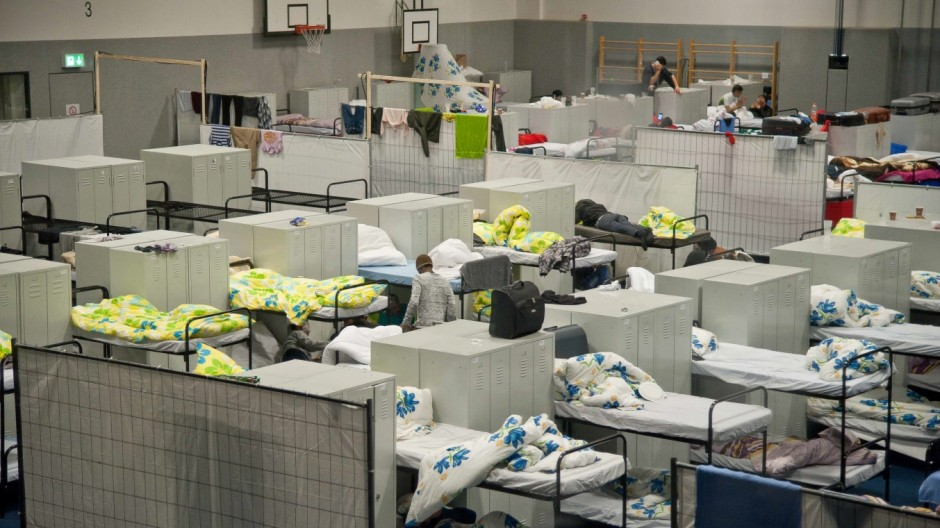 Flüchtlinge in München Asyl