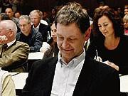 Grünen-Vorsitzender im Saarland, Hubert Ulrich; AP
