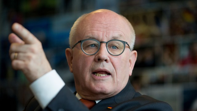 Unions-Fraktionschef Volker Kauder