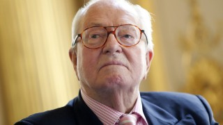 Jean-Marie Le Pen, former leader of the far-right National Front,