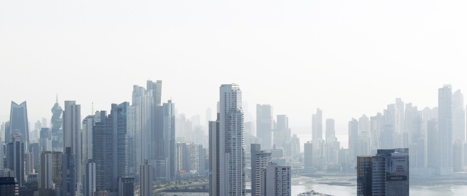 A general view of the skyline of Panama City