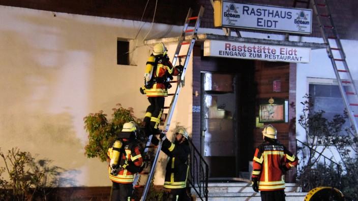 Brand Mehrfamilienhaus Bingen