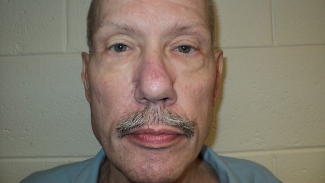 Keith Allen Harward is seen in an undated picture released by the Virginia Department of Corrections