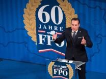 Wien 06 04 2016 Palais Ferstel Wien AUT FPOe Festakt anlaesslich 60 Jahre Freiheitlich Partei O