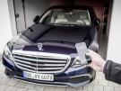 Mercedes E-Klasse automatisches Einparken