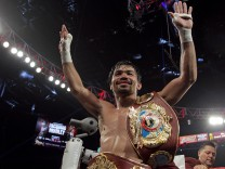 Manny Pacquiao in Las Vegas