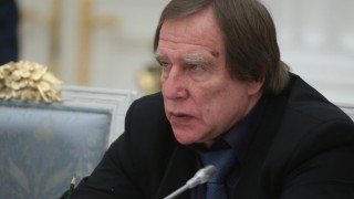 MOSCOW RUSSIA DECEMBER 9 2015 Sergei Roldugin Artistic Director of the St Petersburg House of M