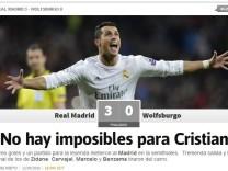 Cristiano Ronaldo Presse