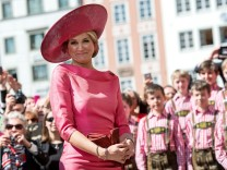 Niederländisches Königspaar in Bayern