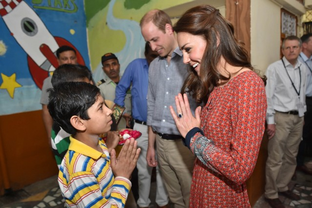 BESTPIX: The Duke & Duchess Of Cambridge Visit India & Bhutan - Day 3