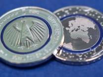 Neue 5-Euro-Münze