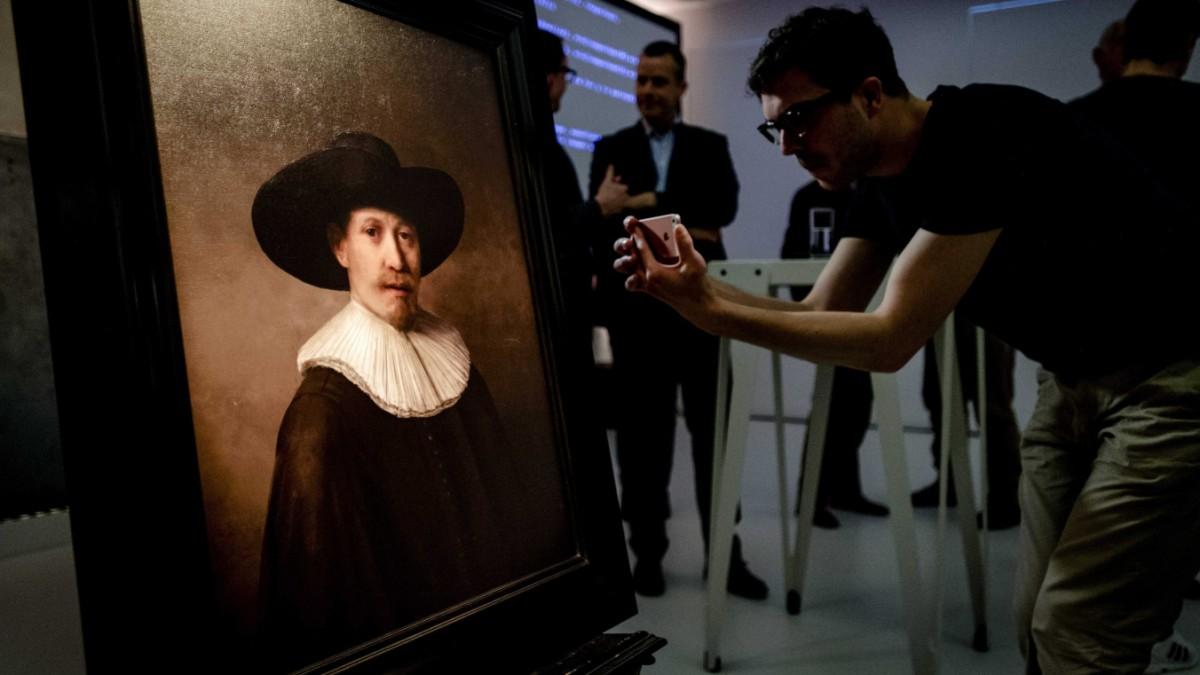 Ein echter Rembrandt - aus dem Rechner