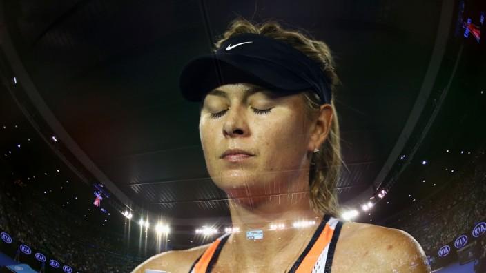 2016 Australian Open - Day 5; scharapowa