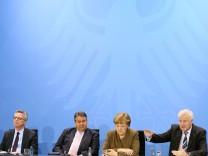 Koalition einigt sich - Integrationsgesetz und Anti-Terror-Paket