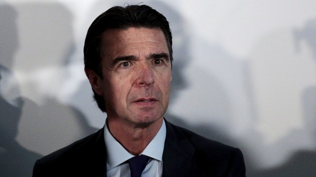 File photo of Spain's Industry Minister Jose Manuel Soria at event in Madrid