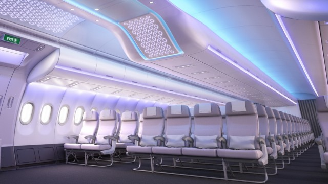 Mobiles Leben Flugzeugkabinen