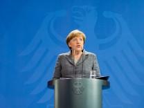 Merkel gibt Erklärung zu Affäre Böhmermann ab