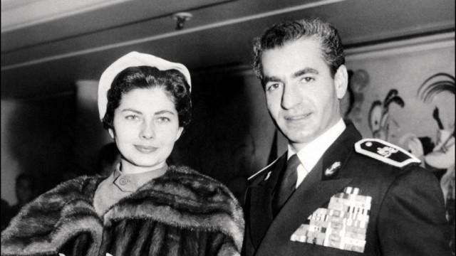 Soraya und Ahmed Reza Pahlevi, 1953