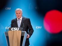 Horst Seehofer trifft Sebastian Kurz