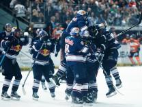 EHC Red Bull Muenchen v Grizzlys Wolfsburg - DEL Playoffs Final Game One