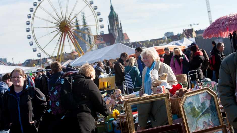 Flohmarkt Theresienwiese