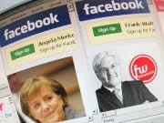 Wahlkampf im Internet, dpa