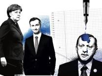 erdogan-illu zu seite drei wegen böhmermann-debatte