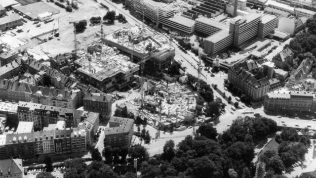 Bau des Gasteig, 1980