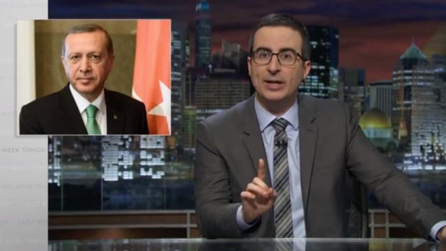John Oliver über die Causa Böhmermann/Erdoğan/Merkel