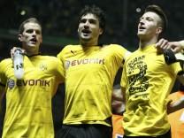 Hertha BSC v Borussia Dortmund, German Cup