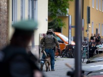 April 19 2016 Shootout in Munich Maxvorstadt One person wounded and transported to the hospital