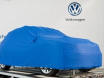 Der Stand von Volkswagen auf der Hannover Messe