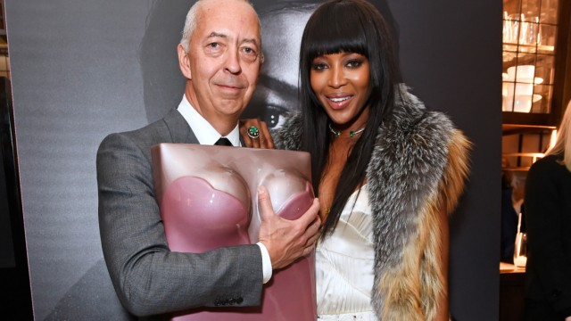 'Naomi' Book Launch Hosted By Naomi Campbell, Burberry And TASCHEN At Burberry's Thomas's Cafe In London