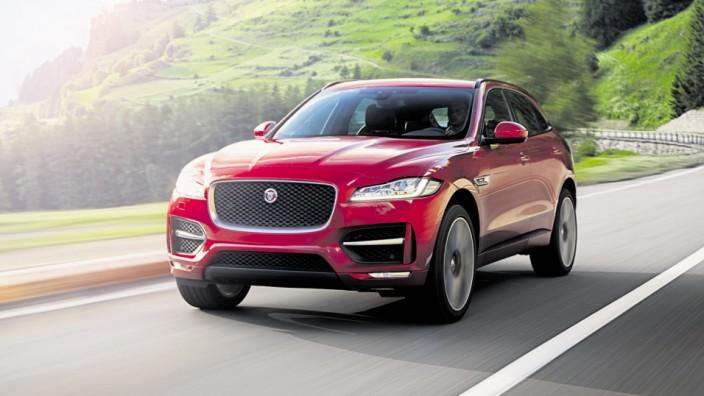 Der neue Jaguar F-Pace
