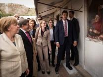 Bundeskanzlerin Merkel in der Türkei
